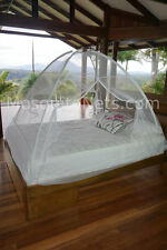 Pop up Freestanding Mosquito Net easily adjustable to fit King to Full size bed