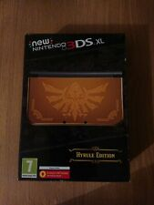 Brand New Sealed Nintendo New 3DS XL Launch Edition Gold Console PAL RARE!