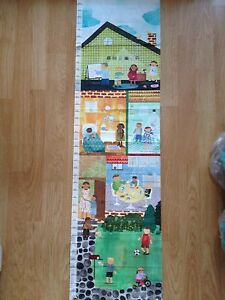 """Oopsy Daisy Maria Carluccio Child's """"Can Do Kids"""" Canvas Growth chart"""