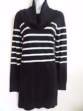 Michael Kors Women's Black Cotton Blend Long Sleeve Sweater Size L SALE