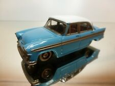 VINTAGE JAPAN 1 NISSAN PRINCE SKYLINE ALSID-2 - BLUE 1:43 RARE - VERY GOOD - 1