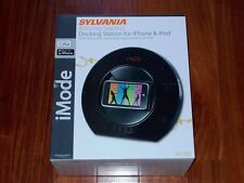 NEW Reduced! Sylvania Rotating Speaker Dock Station for iPhone iPad model SIP286