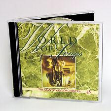La Mantovani Orquesta - World Pop Songs - música cd álbum