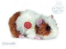 Brown & White Guineapig, Guinea Pig Plush Toy by Hermann Teddy. Lincrafts 92619