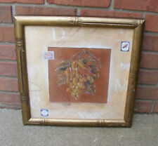 The Bombay Company Antique Grapes Print Framed