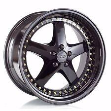 "19"" ESR SR04 Wheels 19x8.5"" +30/19x9.5 +35 5x114.3 For Lexus IS250 SC430 Rims"