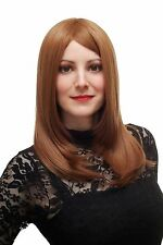 Sexy Noble Women's Wig Middle Part Dark Blonde/Red Smooth sa025-30/27