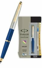 Parker Galaxy GT Roller Ball Rollerball Pen Blue Body, Blue Ink, Vector Frontier