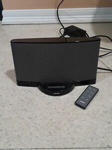 Bose SoundDock Series II Digital Music System Sound Dock Black w/ Remote Tested