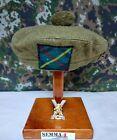 "Genuine British RRS ""Royal Regiment Scotland"" Tam O`Shanter Hat Army Military"