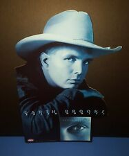 """GARTH BROOKS PROMO ONLY """" FRESH HORSES """" DIE CUT COUNTER TOP DISPLAY 1995"""