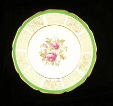 "Vintage Johnson Brothers Decorative Plate, Pareek, 10.75"" Gold Gilt."