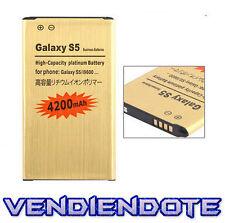 Bateria Para Samsung Galaxy S5 SV i9600 Alta Capacidad Mas Duracion 4200Mah