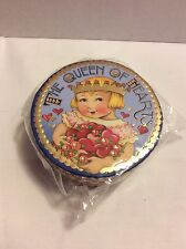 Mary Engelbreit Small Round Trinket Box By Pooch: The Queen Of Hearts (New)
