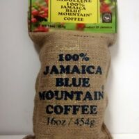 100 percent jamaica blue mountain coffee ridgelyne beans roasted ground coffee