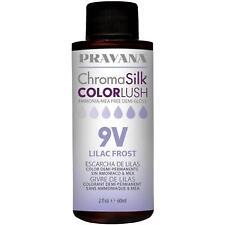 Pravana Chroma Silk  Color Lush 9V Lilac Frost  2 oz