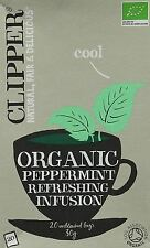 Clipper Tea Bags Organic Peppermint Infusion 20 Bags
