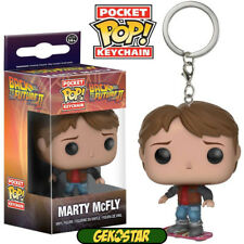 Marty McFly - Back to the Future - Funko Pocket POP Vinyl Keychain