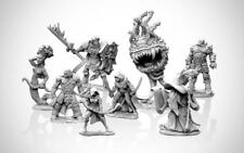 Reaper Bones Miniatures Lot of 10 NPC's, Monsters, and PC's Great Gift
