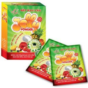 30 Packs x 10g Hoang Yen 3D Jelly Powder - The best for 3D Jelly Art Cakes