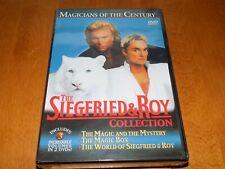 Siegfried & Roy Collection Vol 1 2 3 Magic Magicians Century 2-Disc Dvd Set New