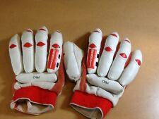 Youth Gray Nicolls Pro Padded Cricket Batting Gloves Leather / Used