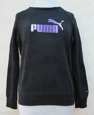 PUMA Polyester Crew Neck Hoodies & Sweats for Women