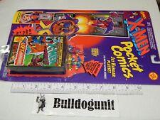 1994 New X-Men Pocket Comics Jet Hangar Playset Cyclops Magneto Mini Figure Set