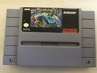 Teenage Mutant Ninja IV 4 Turtles in Time SNES Game Super Nintendo