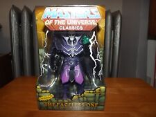 """MASTERS OF THE UNIVERSE CLASSICS, THE FACELESS ONE 6"""" FIG. W/ACCESSORY, NIP 2010"""