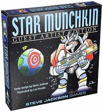 Steve Jackson Games Star Munchkin Guest ARTIST EDITION