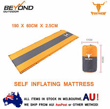 NEW Self Inflating Mattress Sleeping Mat Bed for Camping Hiking Joinable