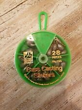 South Bend Bass Casting Sinker Assortment 28 Pack - Quality Popular Sinkers