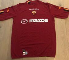 ROMA Diadora 03/04 Home Football Shirt Size Large