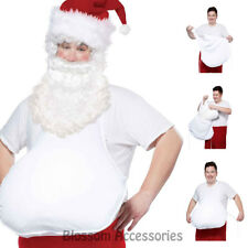 A641 Santa Claus Belly Father Christmas Xmas Party Costume Accessory
