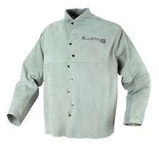 Leather Welders JACKET Large Welding Coat Elliott Brand Bobthewelder OZZY SELLER