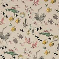 The Ghastlies ~ A Ghastlie Dive in Stone by the Yard - Cotton Fabric