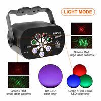 120 Pattern Laser Projector Stage Light LED RGB Party KTV Club DJ Disco Lights