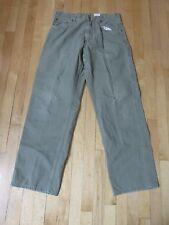Carhatt Green Loose Fit Carpenter Pants Men's 34 x 34   P6