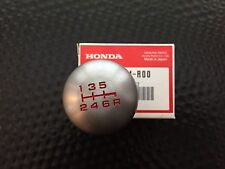 JDM ACURA RSX/DC5-R STAINLESS STEEL SHIFT KNOB 6SP GENUINE HONDA