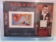 2010 Panini Century SPORTS Souvenir Stamp Swatch Cliff Hagan /250!