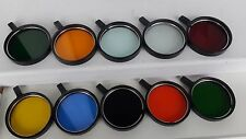 Optical filters from the LOMO microscope, the USSR set