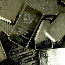 10 Ounce ENGELHARD .999+ Fine Silver Bar 10oz. (Eagle Style)