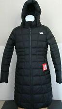 NWT The North Face Women's Metropolis Down Hooded Parka Coat Black Sz L