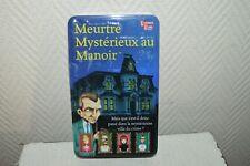 JEU DE SOCIETE  MEURTE MYSTERIEUX AU MANOIR   UNIVERSITY GAMES