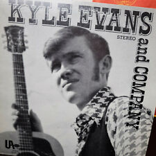 Extremely Rare Kyle Evans and Company LP Vinyl Record – UA-FSD-1145 – EX/VG+