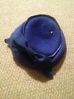 015 Vintage Henry Pollak NY Glenover 100%  Wool Blue Color Women's Hat