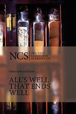 All's Well That Ends Well by William Shakespeare (Paperback, 2004)