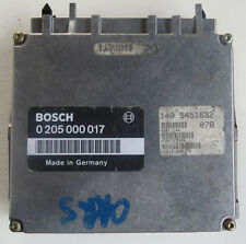 92 Mercedes S600 V12 ENGINE ECU ECM 140 5457532, 140 545 16 32, 0 205 000 017