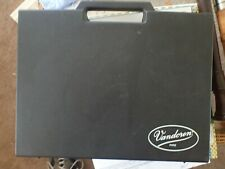 VANDOREN MOUTHPIECE & ACCESSORIES DISPLAY CASE - GREAT MOUTHPIECE CARRYING CASE